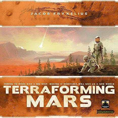 Le jeu du jeudi : Terraforming Mars