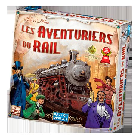 Le jeu du jeudi : Les aventuriers du rail
